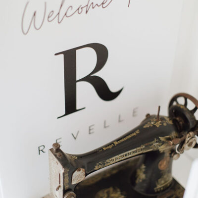 Welcome To Revelle - Sewing Machine